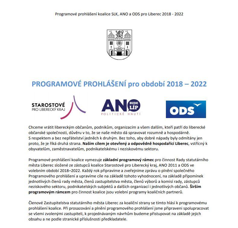 Programové prohlášení